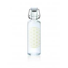 "Bouteille en verre 600 ml  "" Flower of life """