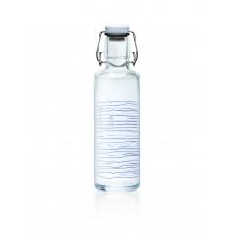 """Bouteille en verre 600 ml  """" Bateau de pêche """""""