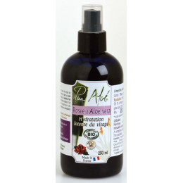 Rosée d'aloe vera hydratation visage BIO 250 ml