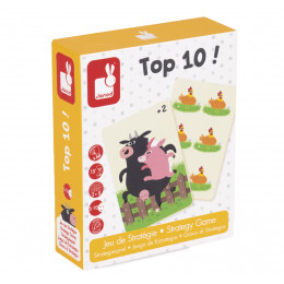 Jeu de strategie 'Top 10!' - à partir de 5 ans