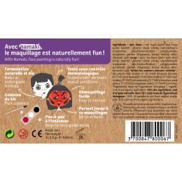 Kit de maquillage Bio 3 couleurs Diable et Vampire - à partir de 3 ans