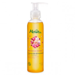 """Huile lactée démaquillante Bio """"Nectar de Roses"""" 145 ml"""