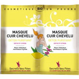 Masque cuir chevelu Détox purifiant 2 x 8 g