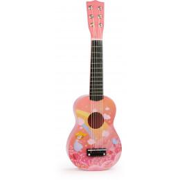 Jolie guitare arc-en-ciel - à partir de 3 ans