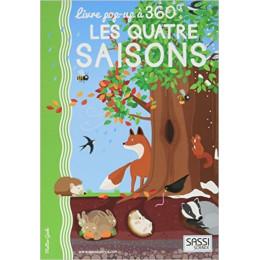 Livre Pop up 360° Les 4 saisons - à partir de 6 ans