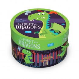 Puzzle géant La forêt des dragons 30 pièces - à partir de 3 ans