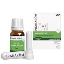 Aromastick nez Bio 10 ml + inhalateur - Aromaforce