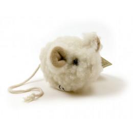 Souris pouet pouet en laine - à  partir de 6 mois*