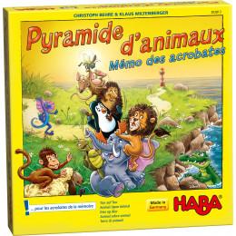 Pyramide d'animaux - Mémo des acrobates - à partir de 5 ans *