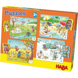 Puzzles 'Les saisons' - à partir de 3 ans