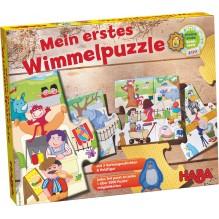 Mon premier puzzle 'libre' - Le zoo - à partir de 2 ans