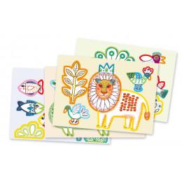 Coloriage pour les petits 'Zoo zoo' - à partir de 3 ans