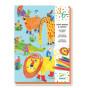 Minis totems à colorier 'Tous copains' - à partir de 3 ans