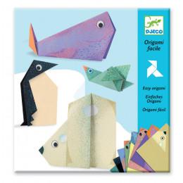 Origami facile 'Les animaux polaires' - à partir de 5 ans
