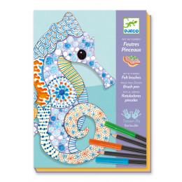 Feutres-crayons 'L'art du motif' - à partir de 7 ans