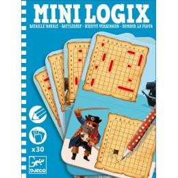 Jeu de réflexion Mini Logix 'Bataille navale' - à partir de 6 ans