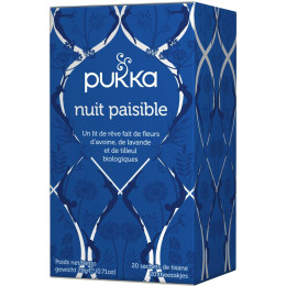 Nuit paisible 20 infusettes BIO