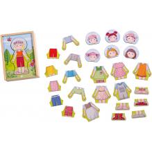 Puzzle en bois 'Les habits préféré de Lilli' - à partir de 18 mois