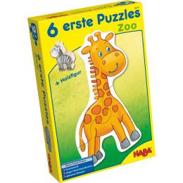 6 premiers puzzles 'Le zoo' - à partir de 2 ans