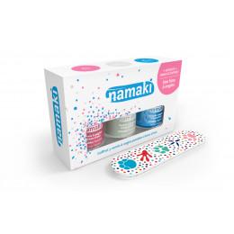 Coffret de 3 vernis pour enfant et lime à ongles - à partir de 3 ans