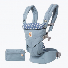 Porte-bébé OMNI 360 4 positions - Blue Daisies