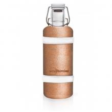 Protection en liège pour bouteille de 600 ml Elastiques blancs