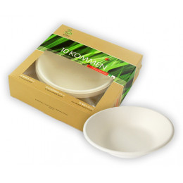 Bols compostables  - Lot de 10