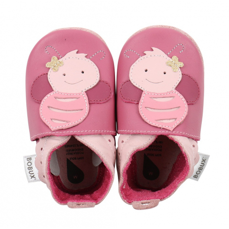 Chaussons G4023 - Abeille Rose