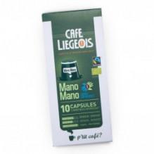 Café Bio Mano Mano 10 Capsules