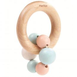 Hochet perles pastel - à partir de 4 mois