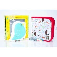 Set cadeau Jaq Jaq Bird. 1 cahier à coloriages Forêt + 1 doudou oiseau A partir de 3 ans