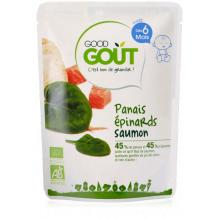 Panais épinards saumon 190g dès 6 mois