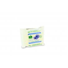 Disques décongestionnants biodégradables en coton - à l'eau de bleuet