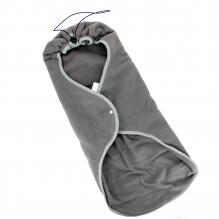 Couverture pour siège auto, poussette, maxi-cosi - Anthracite 100%  Coton Bio