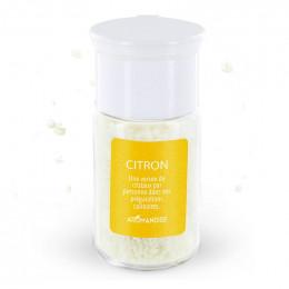 Cristaux d'huiles essentielles à cuisiner - citron - 10 g