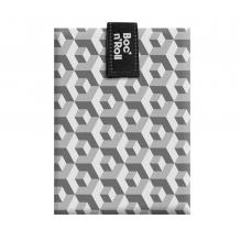 Porte sandwich lavable et réutilisable Boc'n'Roll - Tiles Black