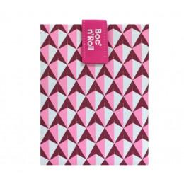Pochette sandwich lavable et réutilisable Boc'n'Roll - Tiles Pink