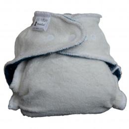 Couche évolutive de nuit - Dodo Bambou Bleue - 5/15 kg
