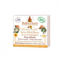 Savon Miels blancs bio Peaus délicates 100 g