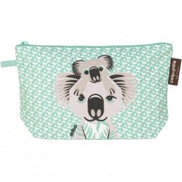 """Trousse à soufflets en coton BIO """"Koala"""""""
