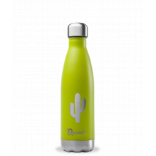 Bouteille inox nomade isotherme Summer Vert Cactus