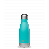 Bouteille inox nomade isotherme Pastel bleu mat