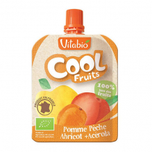 Cool Fruits goude - Pomme Pêche Abricot 90 g