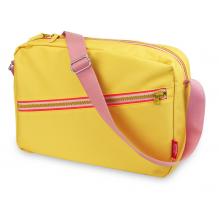 Sac bandoulière 'Zipper Yellow'