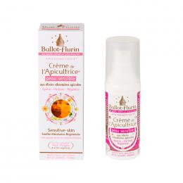 Crème de l'apicultrice Peau sensibles - 30 ml