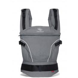 Porte-bébé Baby carrier en coton BIO - Dark Grey