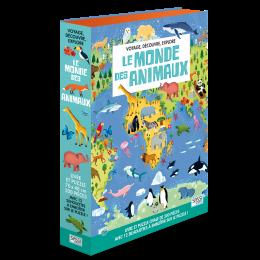 Puzzle Ovale Le monde des animaux 200 pièces - à partir de 6 ans