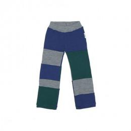 Pantalon en laine Patchwork - Sequoia / Silver / Moonlight