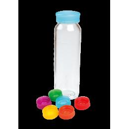Bouteille à smoothie et jus en verre - 250 ml - Lot de 6