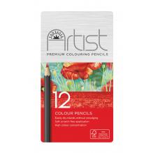 Boîte de 12 crayons de couleur  - à partir de 3 ans